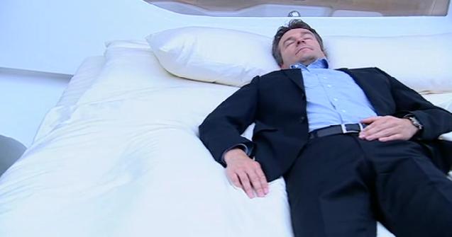 Pendelndes Bett
