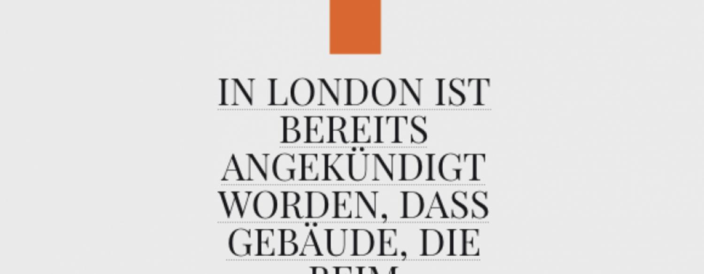 Zitat von Jürg Bernet, EURO Institut für Immobilien Management