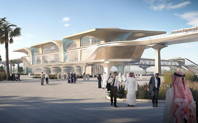 Ben van Berkel / UNStudio Designs Over 30 Stations in Phase One of the Doha Metro Network